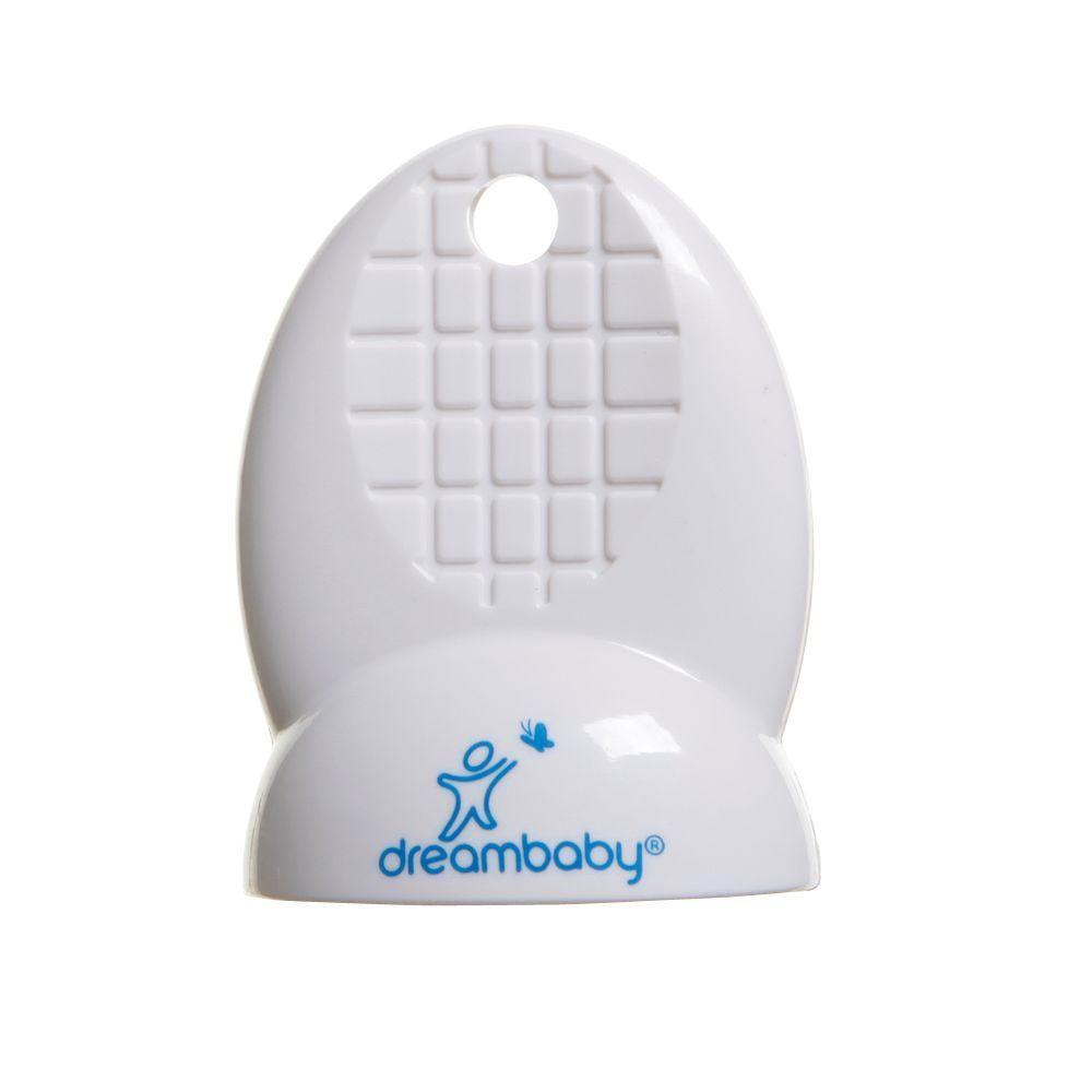 Dreambaby White Mag Locks Adhesive Magnetic Locks (1 Key)