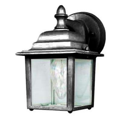 Schwab 1-Light Black Outdoor Wall Lantern