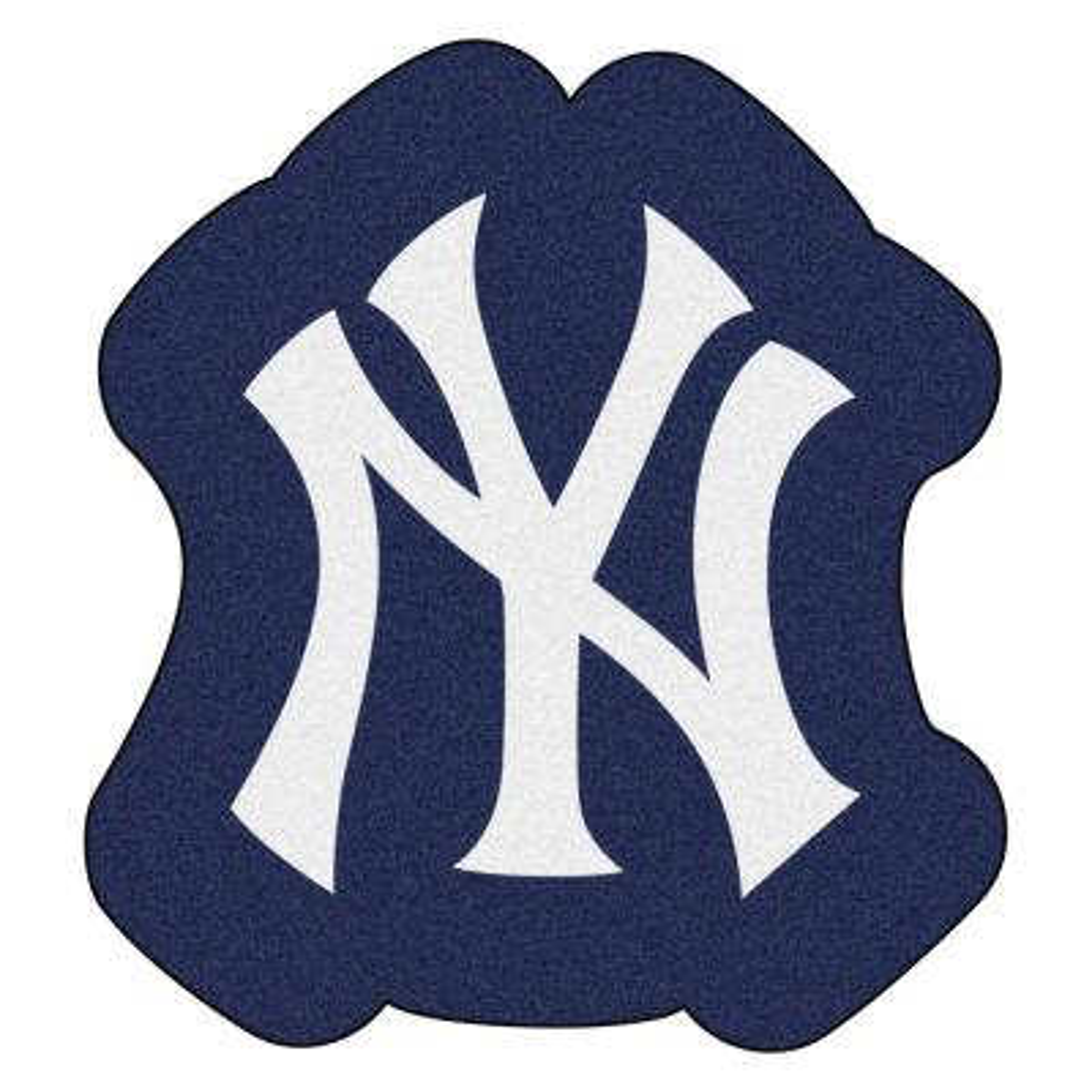 MLB - New York Yankees 30 in. x 32.9 in. Indoor Area Rug Mascot Mat