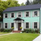 Summer House Satin Enamel Exterior Paint And 4