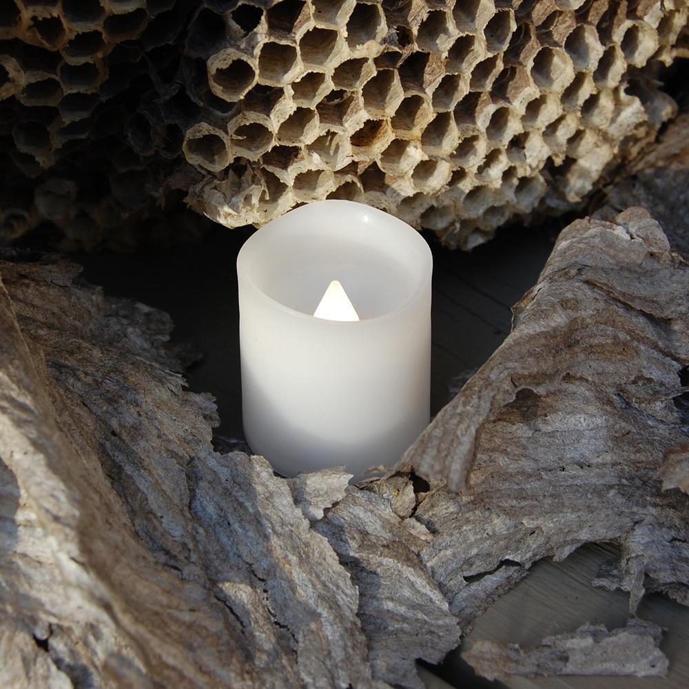 Lumabase 1.5 in. Warm White Votive LED Candle (Set of 12)