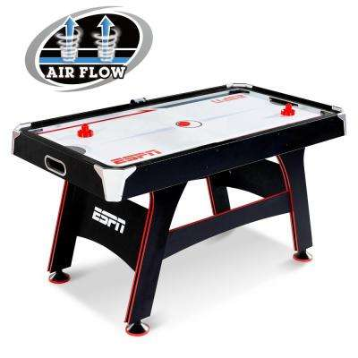 5 ft. Air Hockey Table with Led Electronic Scorer