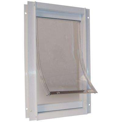 15 in. x 20 in. Super Large Deluxe Aluminum Frame Dog and Pet Door