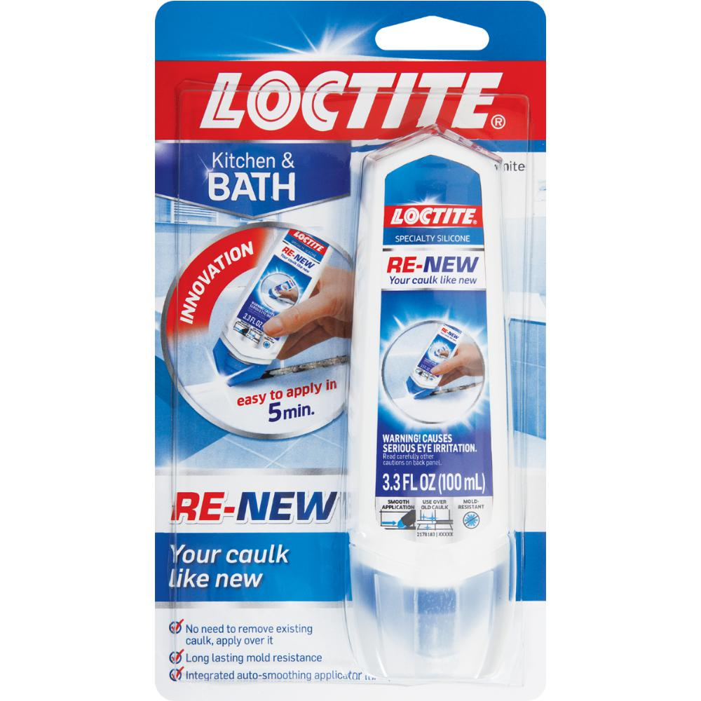 Loctite 3.3 fl. oz. White Renew Sealant-2223503 - The Home Depot