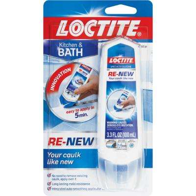 3.3 fl. oz. White Renew Sealant (8-Pack)