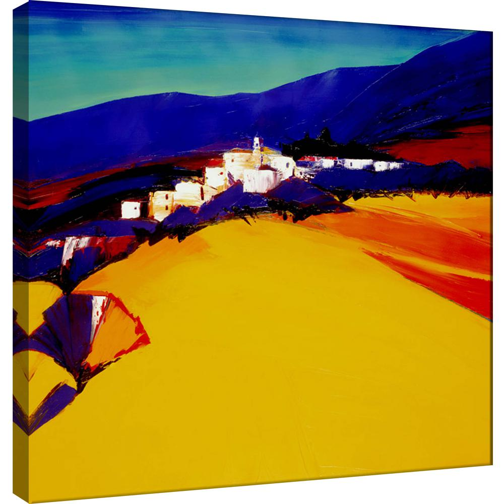 PTM Images 15.in x 15.in \'\'A view from the Desert\'\' Printed Canvas ...