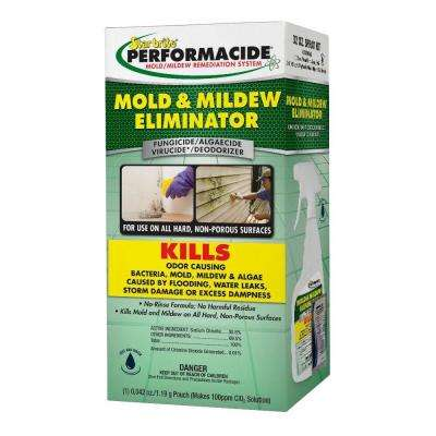 Performacide 32 oz. Mold and Mildew Eliminator Spray Kit Pro Pack (12-Pack)