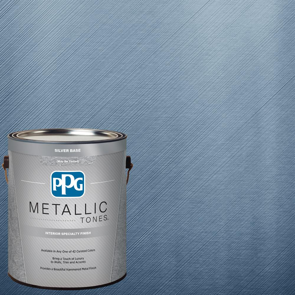 1 gal. MTL112 Mediterranean Night Metallic Interior Specialty Finish Paint