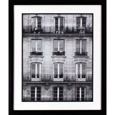 25.75 in. x 21.75 in. Across the Street Printed Framed Wall Art