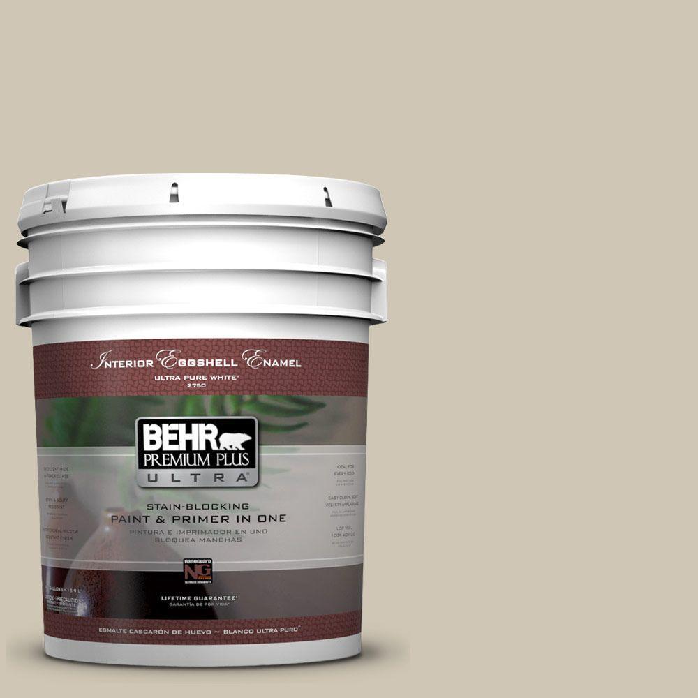 BEHR Premium Plus Ultra 5-gal. #N310-3 Sandstorm Eggshell Enamel Interior Paint