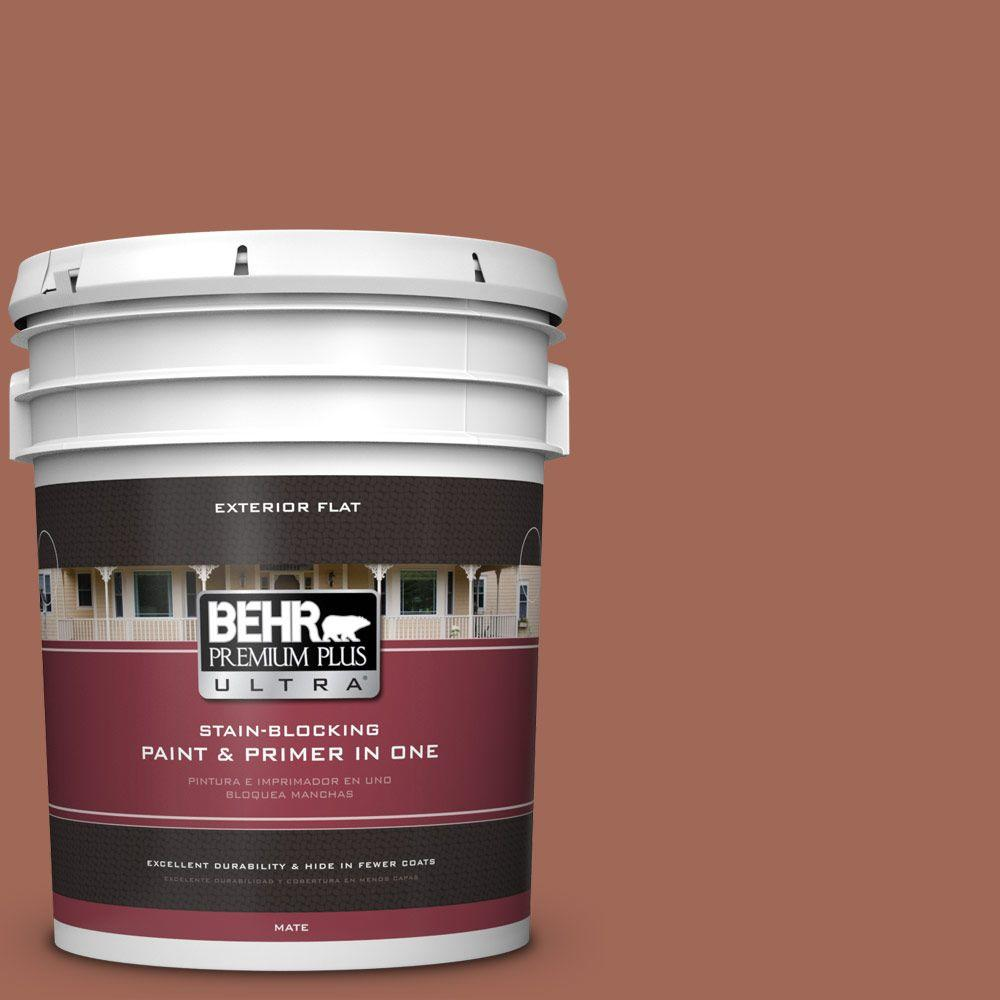 BEHR Premium Plus Ultra 5-gal. #S180-6 Perfect Penny Flat Exterior Paint