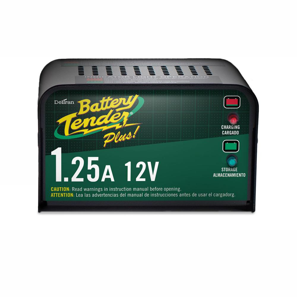 Battery Tender 12-Volt 1.25 Amp Battery Charger