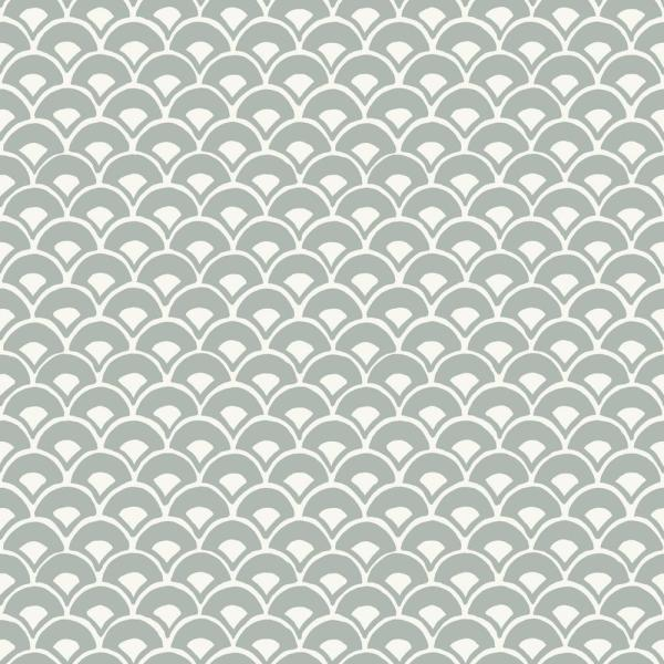 Magnolia Home by Joanna Gaines 56 sq. ft. Stacked Scallops Wallpaper