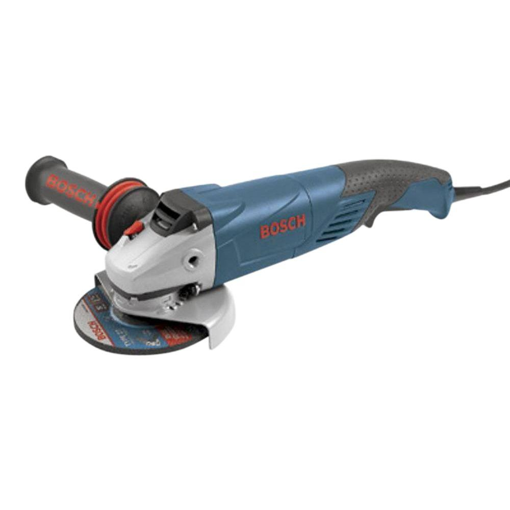 Bosch 9.5 Amp Corded 5 in. Angle Grinder