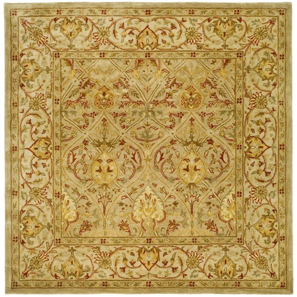 Safavieh Persian Legend Moss Beige 8 Ft X 8 Ft Square