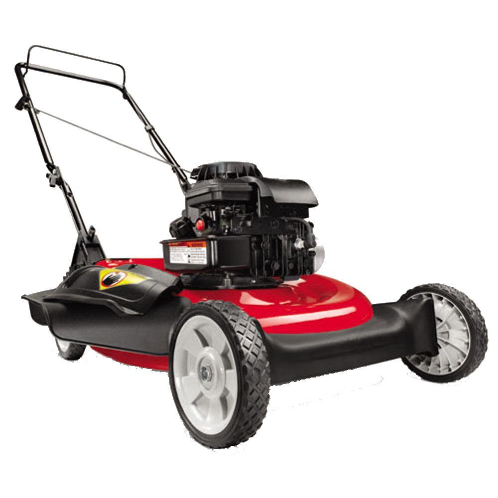 Yard Machines 21 in. Briggs and Stratton Push Gas Lawn Mower-DISCONTINUED