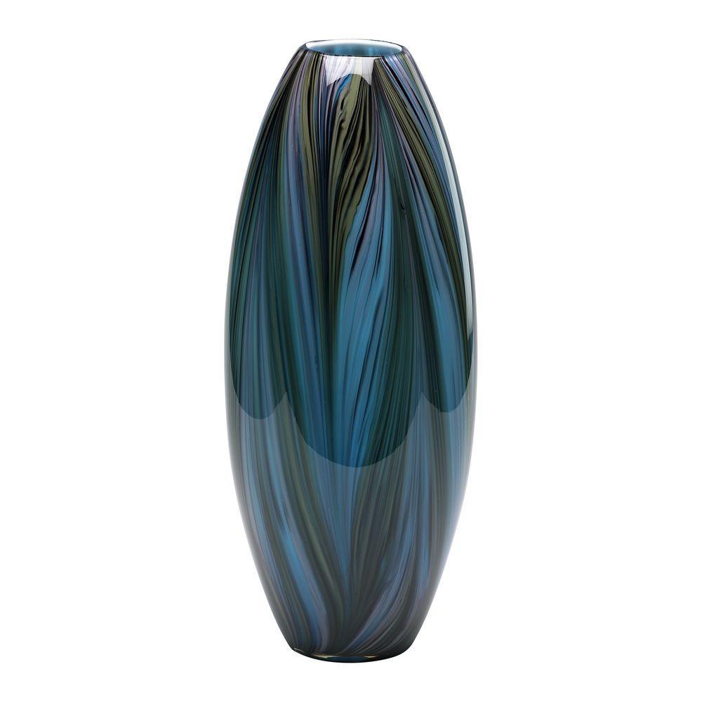 Filament Design Prospect 13.75 in. x 3.75 in. Brown Vase