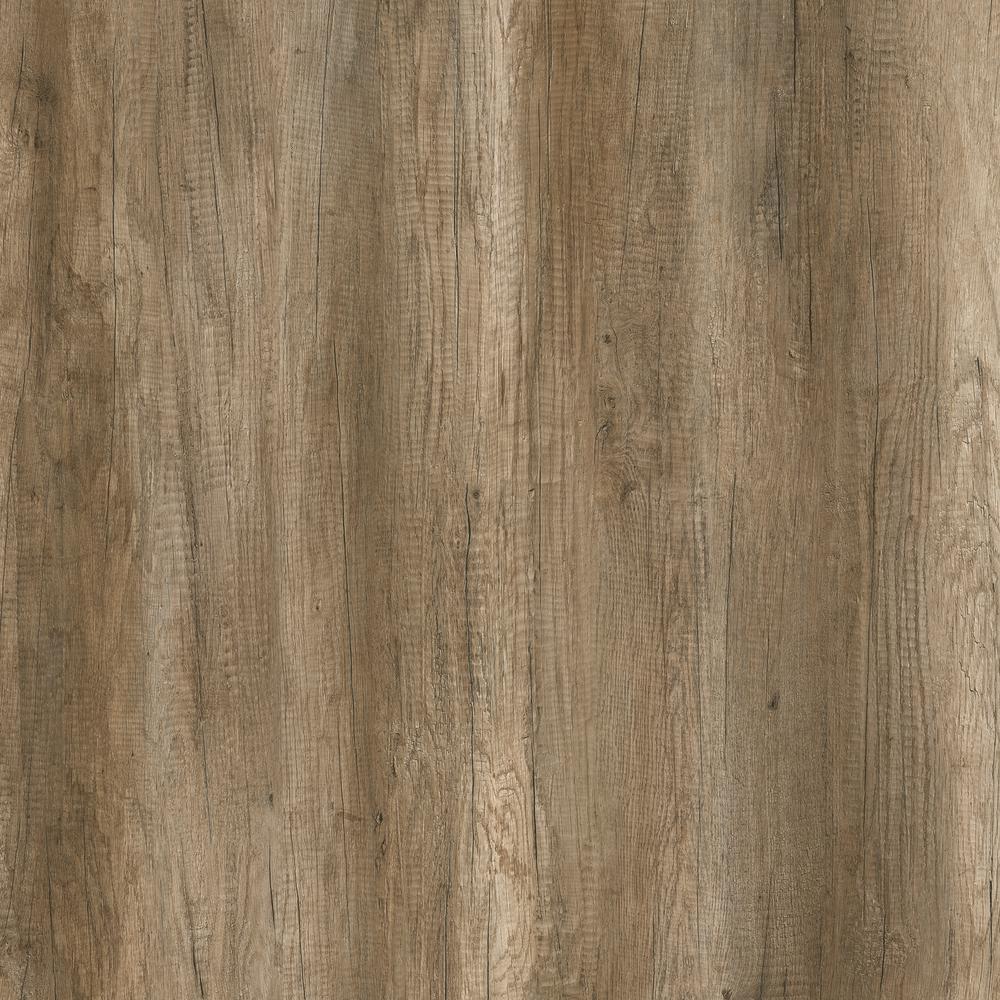 Botanicals Country Oak Medium 7.1 in. W x 48 in. L Luxury Click-Lock Vinyl Plank Flooring (28.42 sq. ft./case)