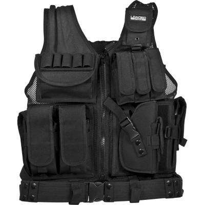 Loaded Gear 20.5 in. VX-200 Right Hand Tactical Vest, Black