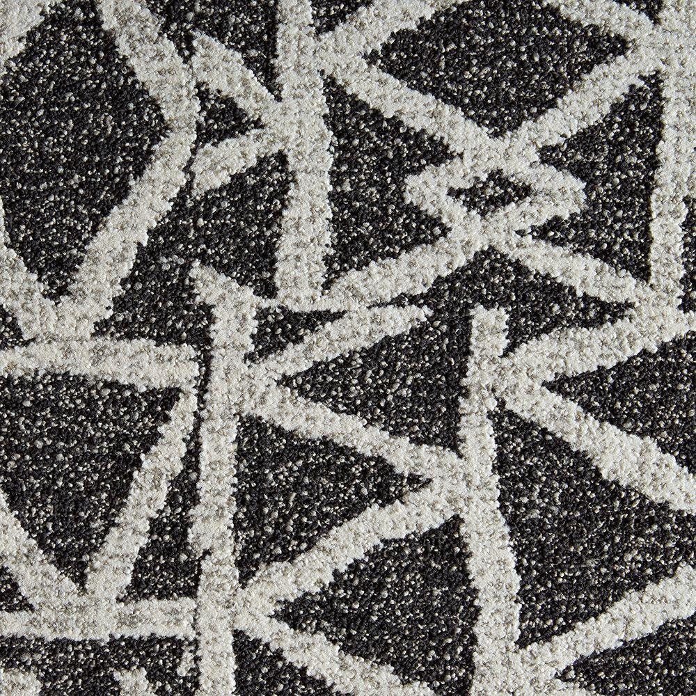 Yabara Iron 19.7 in. x 19.7 in. Carpet Tile (6 Tiles/Case)