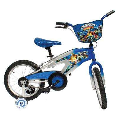Street Flyers Skylanders Kid's Bike, 16 in. Wheels, 11 in. Frame, Boy's Bike in Blue