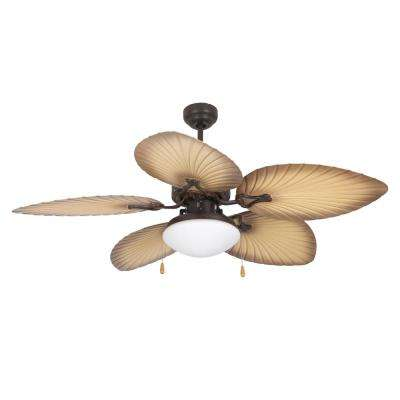 California Breeze 52 in. Oil Rubbed Bronze Outdoor Ceiling Fan