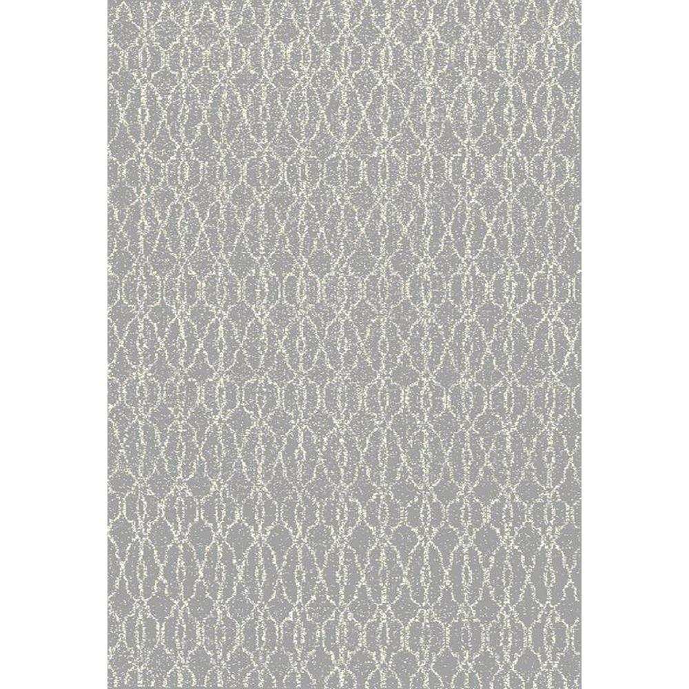 Zahra Collection Grey 5 ft. x 7 ft. Area Rug