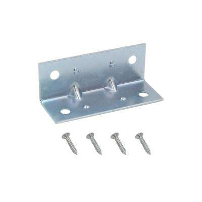 2 in. Zinc-Plated Inside Corner Brace (4-Pack)