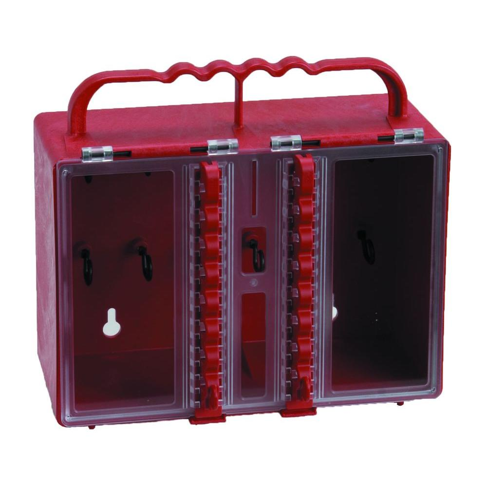 Portable Plastic Lock Box
