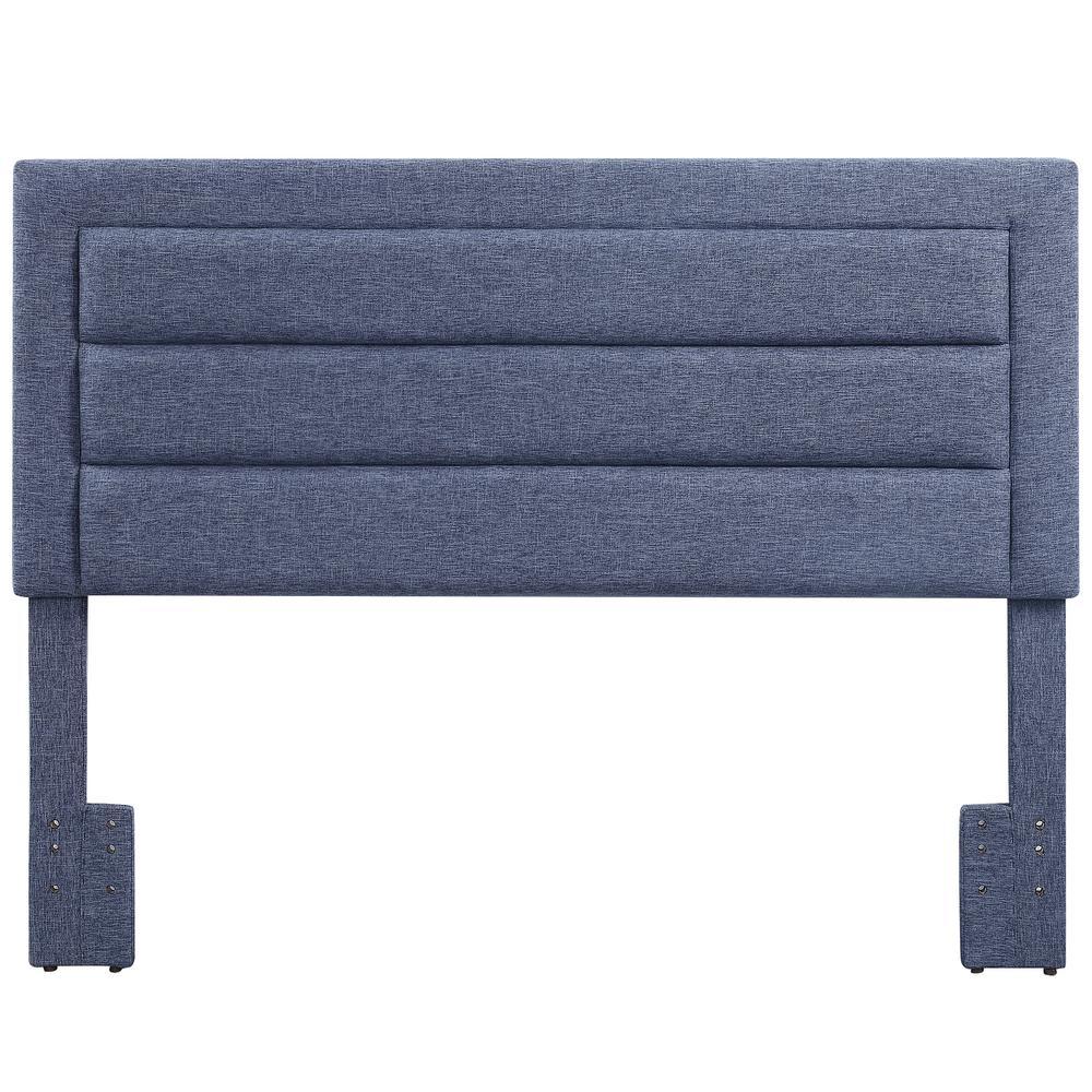 Lydia Gray Linen Upholstered Headboard
