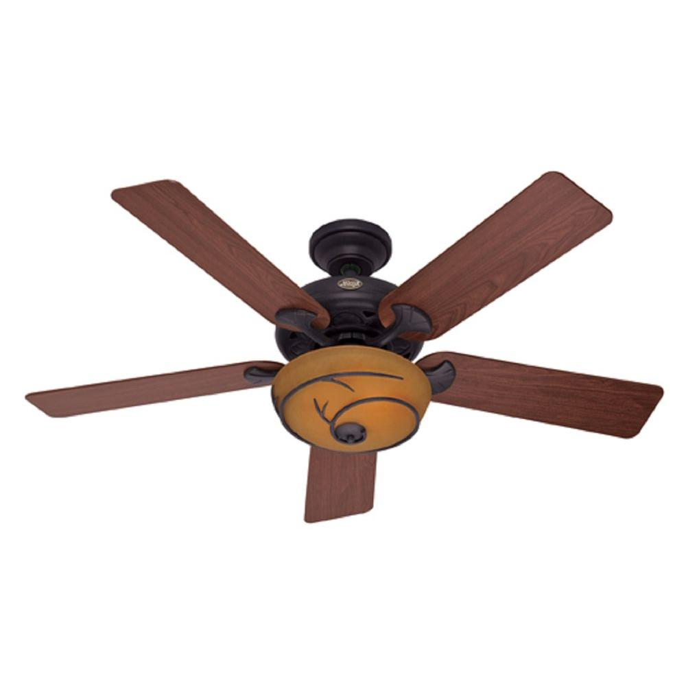 Hunter Northwood's 52 in. Brittany Bronze Ceiling Fan-DISCONTINUED