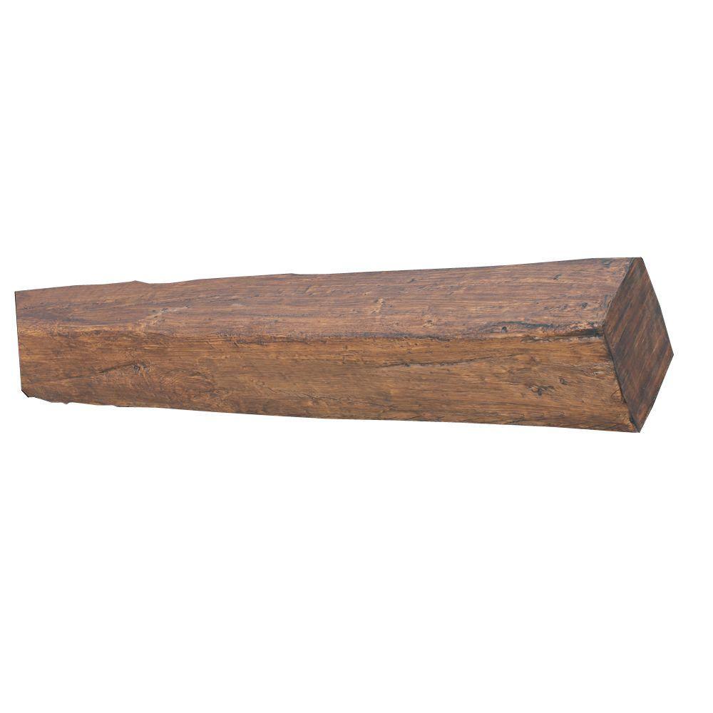 10 in. x 12 in. x 18 ft. 9 in. Faux Wood Rustic Beam