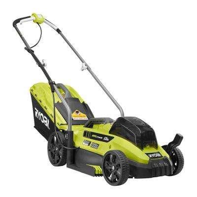 13 in. ONE+ 18-Volt Lithium-Ion Cordless Battery Walk Behind Push Lawn Mower with 4.0 Ah Battery/Charger Included