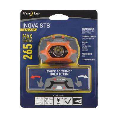 Inova STS Headlamp - Orange