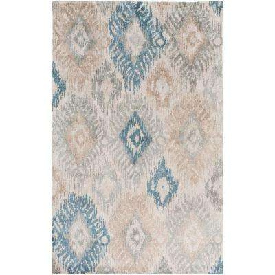 Peralta Light Gray 2 ft. x 3 ft. Indoor Area Rug