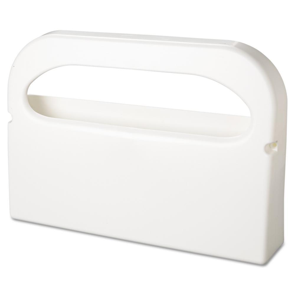 Amazing Hospeco 16 In X 3 1 4 In X 11 1 2 In White Plastic Half Fold Toilet Seat Cover Dispenser Machost Co Dining Chair Design Ideas Machostcouk
