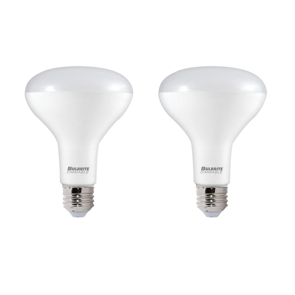 65W Equivalent Soft White Light BR30 Dimmable LED Title 24 Complaint