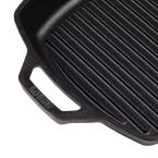 Lodge 10.5 in. Square Cast Iron Grill Pan