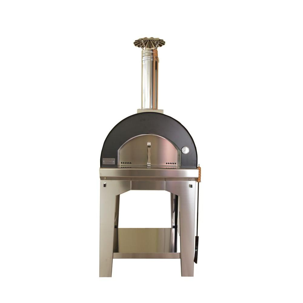 Fontana Forno Toscano Margherita Outdoor Wood Fired Pizza Oven-FTM ...