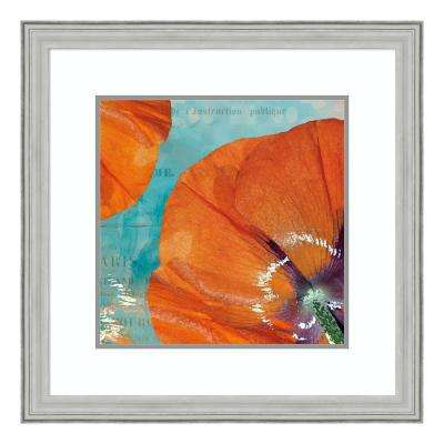 """Poppies in the Sky I"" by Sabine Berg Framed Wall Art"