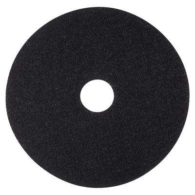 17 in. Black Stripping Pads (5 Per Carton)