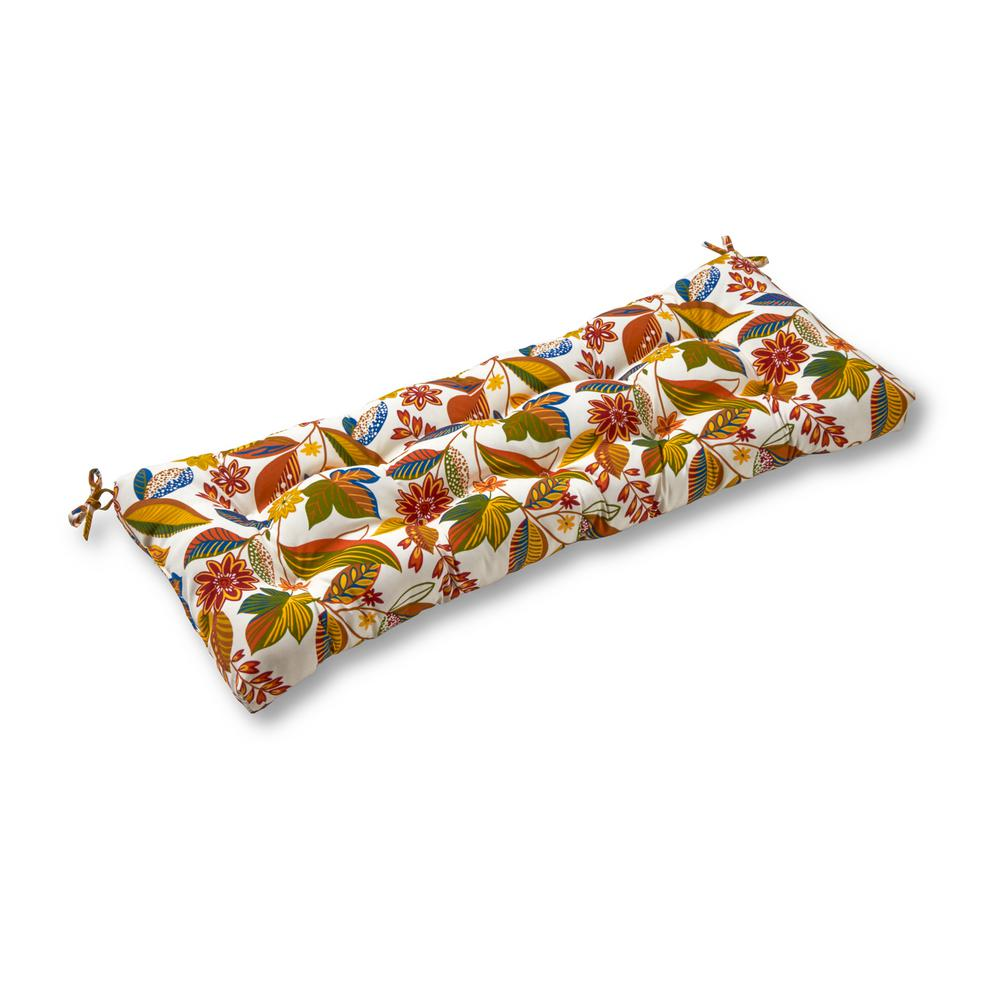 Greendale Home Fashions Esprit Floral Rectangle Outdoor Swing/Bench Cushion