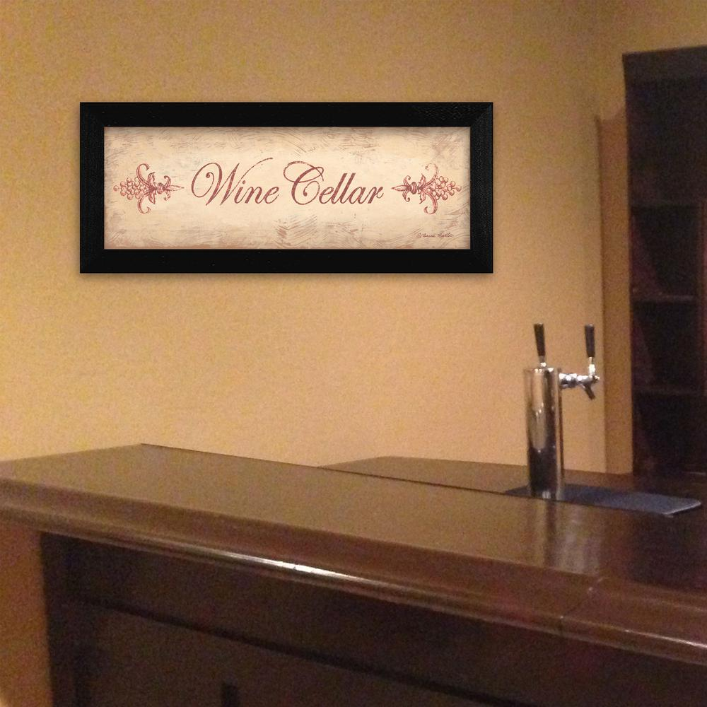 8 In X 20 In 39 39 Wine Cellar By Becca Barton Printed