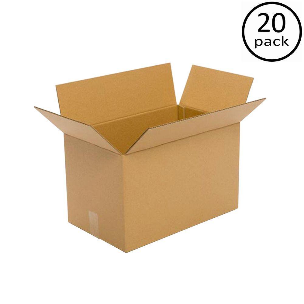 20 in. x 12 in. x 12 in. 20-Box Bundle