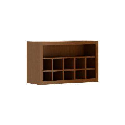 Madison Assembled 30x18x12 in. Flex Wall Cabinet in Cognac