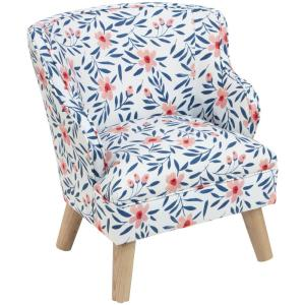 Magnificent Skyline Furniture Kids Fiona Floral Porcelain Blush Modern Creativecarmelina Interior Chair Design Creativecarmelinacom