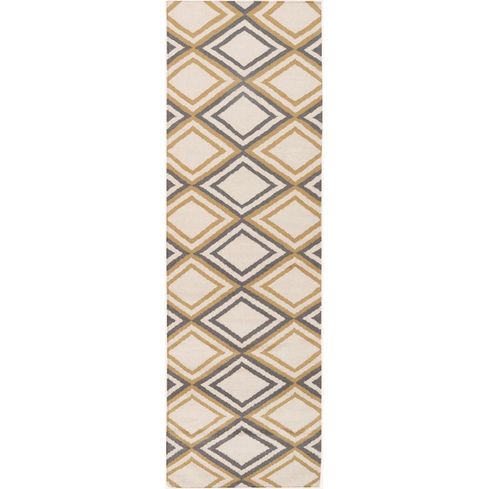 Artistic Weavers Tonsberg Ivory 2 ft. 6 in. x 8 ft. Flatweave Rug Runner