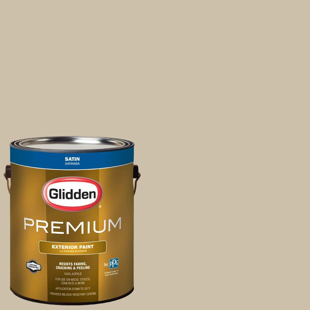 Glidden Premium 5 Gal Hdgwn28d Chatham Green Flat Interior Paint With Primer Hdgwn28dp 05fn The Home Depot