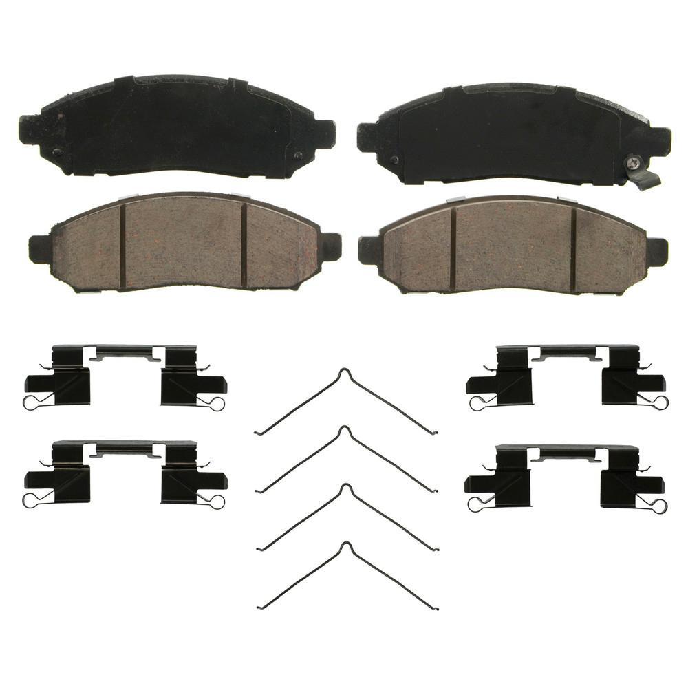 QuickStop Disc Brake Pad - Front