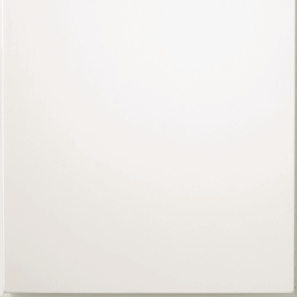 14.5x14.5 in. Cabinet Door Sample in Madsen White
